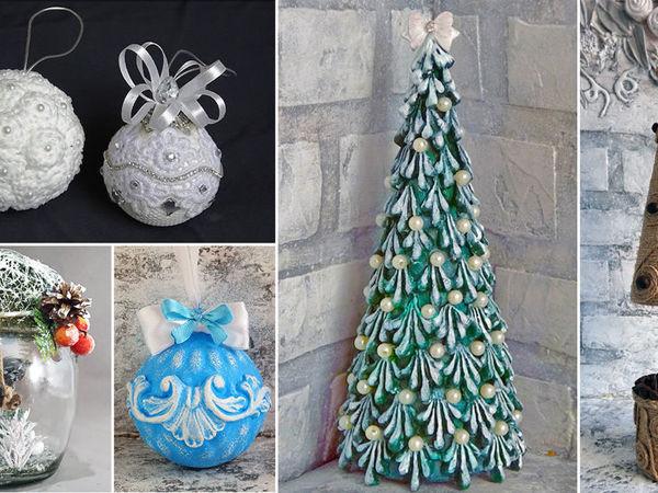 9 идей новогодних поделок своими руками   Ярмарка Мастеров - ручная работа, handmade