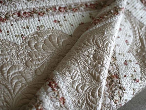 Обучаемся искусству квилтинга. Создаем нежное одеяло «Мерцание» | Ярмарка Мастеров - ручная работа, handmade