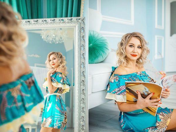 Шьем летнее платье   Ярмарка Мастеров - ручная работа, handmade