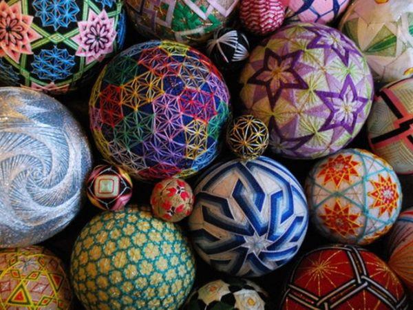 Волшебный клубочек: японское искусство вышивания темари + 17 работ NanaAkua | Ярмарка Мастеров - ручная работа, handmade