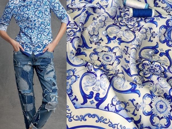 Брендовый креповый шелк | Ярмарка Мастеров - ручная работа, handmade