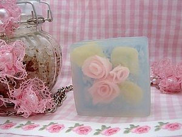 Мыло в стиле Шебби шик | Ярмарка Мастеров - ручная работа, handmade