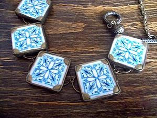 Лепим оригинальное ожерелье из полимерной глины | Ярмарка Мастеров - ручная работа, handmade