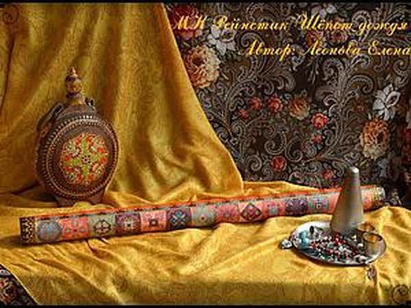 Мастер-класс по изготовлению и декорированию рейнстика «Шёпот дождя» | Ярмарка Мастеров - ручная работа, handmade