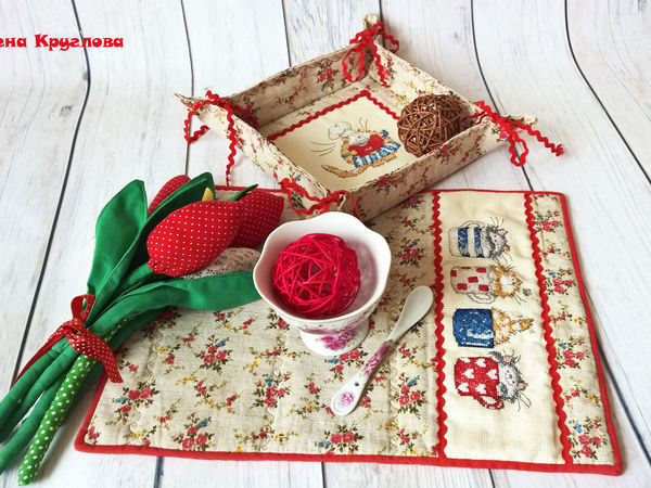 Аукцион с НУЛЯ на Комплект для кухни! | Ярмарка Мастеров - ручная работа, handmade