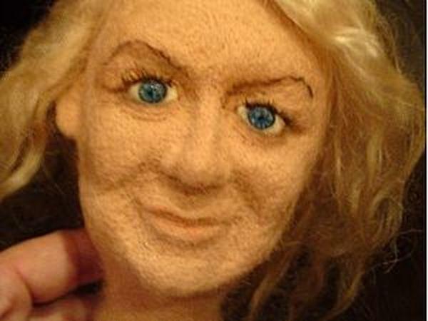 Как сделать реалистичные глазки для куклы | Ярмарка Мастеров - ручная работа, handmade