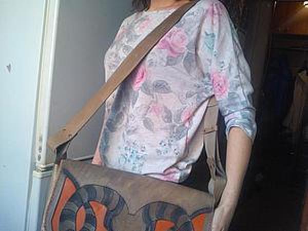 Мастер-класс . Большая сумка. | Ярмарка Мастеров - ручная работа, handmade