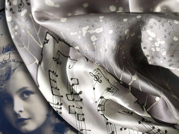 Batik Tutorial: Music of Silver Age | Livemaster - handmade