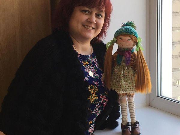 Интерьерная кукла | Ярмарка Мастеров - ручная работа, handmade