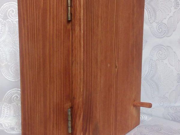 Как сделать простую ключницу своими руками | Ярмарка Мастеров - ручная работа, handmade