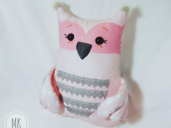 Мастер-класс по изготовлению подушки-игрушки «Совушка Милаша»   Ярмарка Мастеров - ручная работа, handmade
