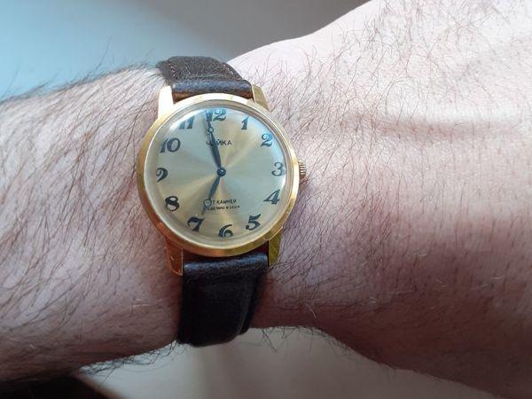 Видео часов, Механические Позолоченные Часы Чайка СССР, 1977 | Ярмарка Мастеров - ручная работа, handmade