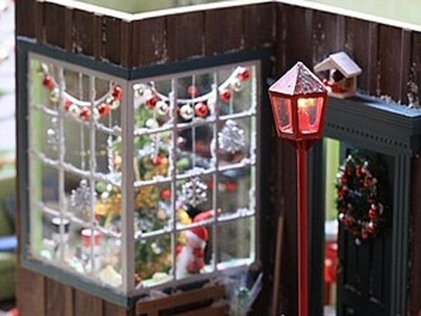 Рождественский румбокс, масштаб 1:12 | Ярмарка Мастеров - ручная работа, handmade