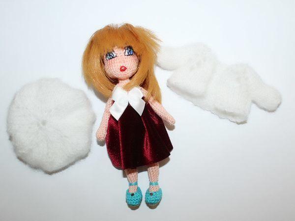 Вяжем куколку амигуруми Аллочку | Ярмарка Мастеров - ручная работа, handmade