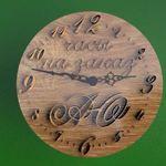 Wooden-clock - Ярмарка Мастеров - ручная работа, handmade