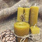 Медовые свечи K. (honey-candles-K) - Ярмарка Мастеров - ручная работа, handmade