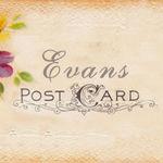 Evans postcard - Ярмарка Мастеров - ручная работа, handmade