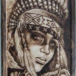 Выжигание портретов, Никонов Д. - Ярмарка Мастеров - ручная работа, handmade