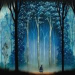 """""""Волчья песнь"""".Роспись по дереву. - Ярмарка Мастеров - ручная работа, handmade"""