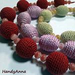 Слингобусы, вязаные украшения (handyanna) - Ярмарка Мастеров - ручная работа, handmade