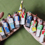 Wood Soldiers (woodsoldier) - Livemaster - handmade
