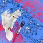 Painting. Matryoska. - Livemaster - handmade