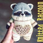 Knitted_Raccoon - Ярмарка Мастеров - ручная работа, handmade