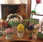 Цветы из бисера - Ярмарка Мастеров - ручная работа, handmade
