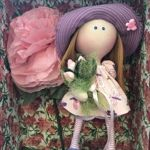 Декоративные куклы ручной работы - Ярмарка Мастеров - ручная работа, handmade