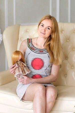 Tekstilnye kukly, zajtsy (Mariya)