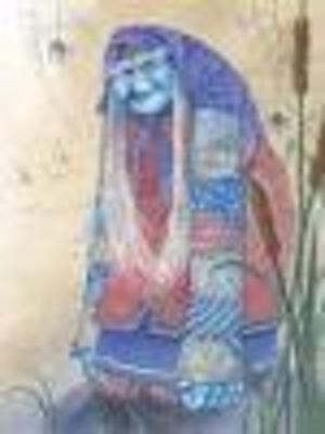 Картинка бабка синюшка для детей